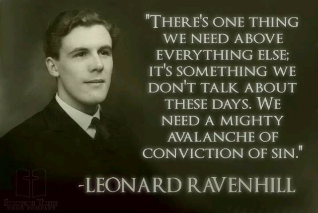 Conviction of Sin - Leonard Ravenhill